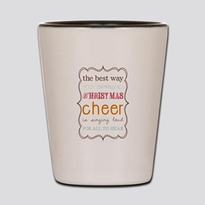 The Best Way to Spread Christ Shot Glass