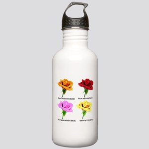 Rose Meanings Stainless Water Bottle 1.0L
