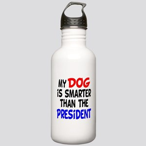 Dog Smarter Than-2 Stainless Water Bottle 1.0L
