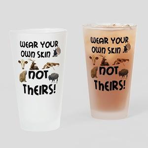 Wear Own Skin Variety Drinking Glass