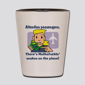 Attention Passengers SoaP Shot Glass