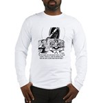 Dead Batteries In Space Long Sleeve T-Shirt