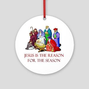 christmas jesus is the reason for the season ornam