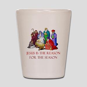 Christmas Jesus is the reason for the season Shot