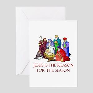 Christmas Jesus is the reason for the season Greet