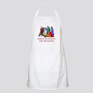 Christmas Jesus is the reason for the season Apron
