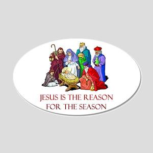 Christmas Jesus is the reason for the season 20x12