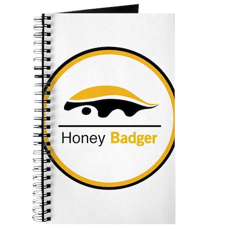 Honey Badger & Moustache Cloc Journal
