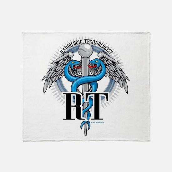 Radiologic Technologist Throw Blanket