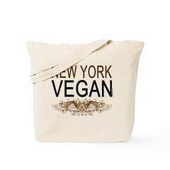 New York Vegan Tote Bag