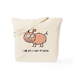 Anti Bacon Compassion Tote Bag