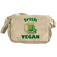 Irish Vegan Messenger Bag