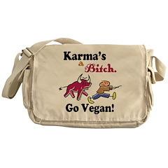 Vegan Karma Messenger Bag
