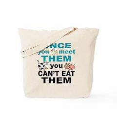 Animal Compassion Tote Bag