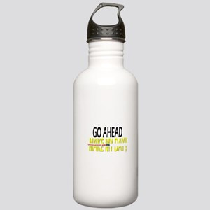 go ahead make my day Stainless Water Bottle 1.0L