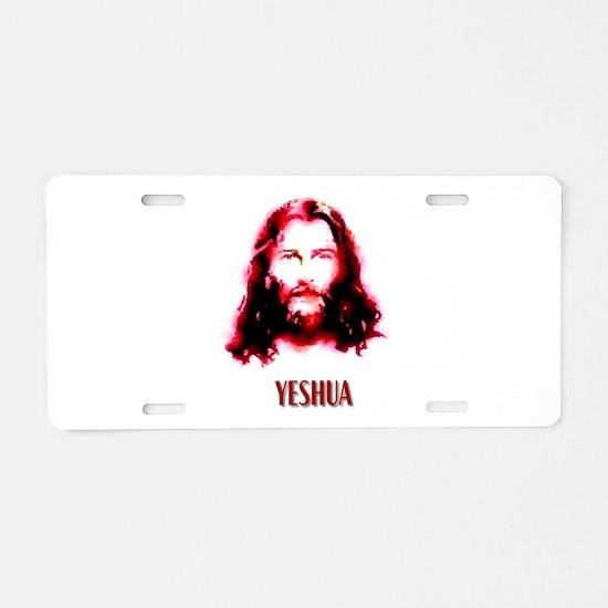yeshua Aluminum License Plate