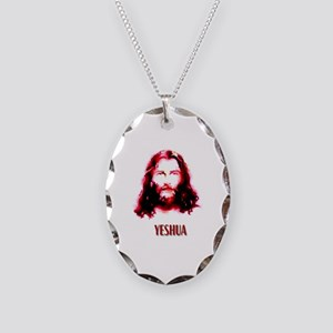 yeshua Necklace Oval Charm