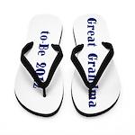 Great Grandma-to-Be 2012 Flip Flops