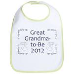 Great Grandma-to-Be 2012 Bib