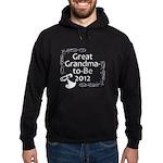 Great Grandma-to-Be 2012 Hoodie (dark)