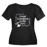 Great Grandma-to-Be 2012 Women's Plus Size Scoop N