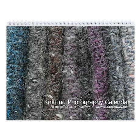 Knitting Photography Wall Calendar (v. 1)