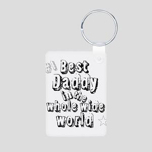 Best Daddy Aluminum Photo Keychain