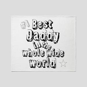 Best Daddy Throw Blanket