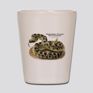Northern Pacific Rattlesnake Shot Glass