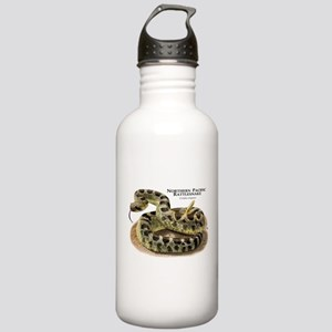 Northern Pacific Rattlesnake Stainless Water Bottl