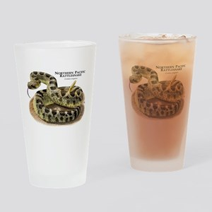 Northern Pacific Rattlesnake Drinking Glass