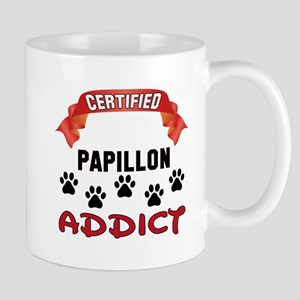 Certified Papillon Addict 11 oz Ceramic Mug