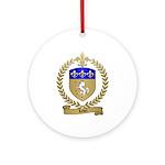 LEBEL Family Crest Ornament (Round)