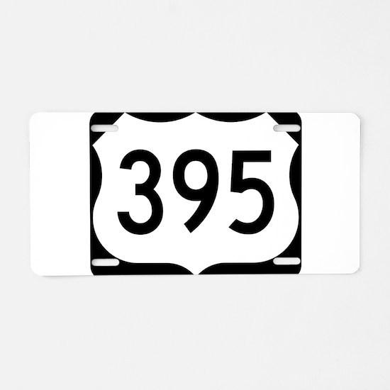 Reno 395 Aluminum License Plate