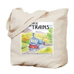 Bring Back the Trains Tote Bag