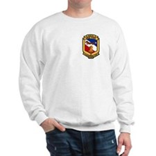 2-Sided USS Fox Sweatshirt