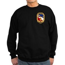 2-Sided USS Fox Sweatshirt (dark)
