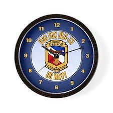 USS Fox Wall Clock