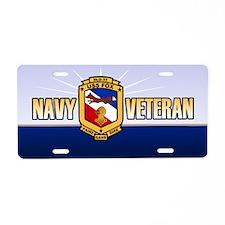USS Fox Aluminum License Plate