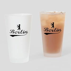 Berlin Bear Drinking Glass