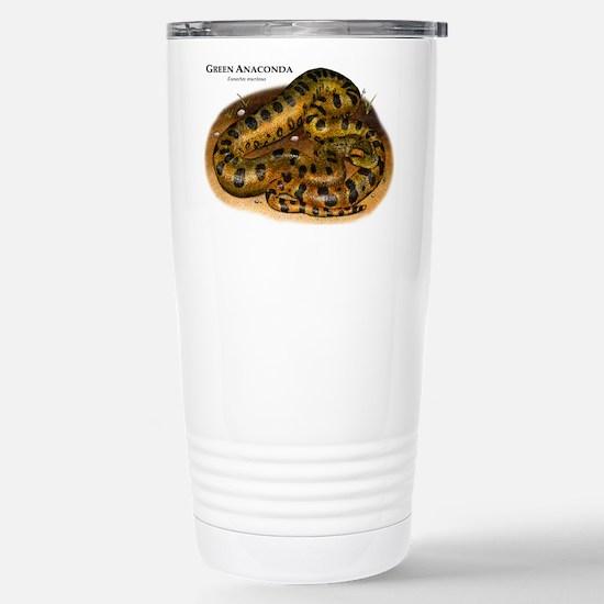 Green Anaconda Stainless Steel Travel Mug