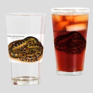 Green Anaconda Drinking Glass