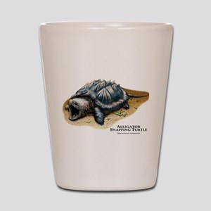 Alligator Snapping Turtle Shot Glass