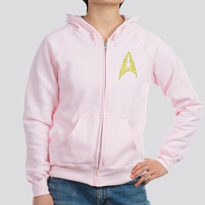 Star Trek Quotes (Insignia) Women's Zip Hood w/BP