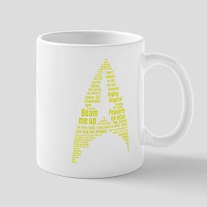 Star Trek Quotes (Insignia) Mug