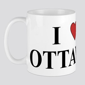 I Love Ottawa Mug
