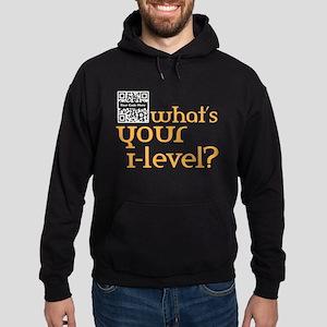 Custom QR What's your i-lvl? Hoodie (dark)