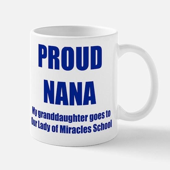 Nana 1 Granddaughter Mug