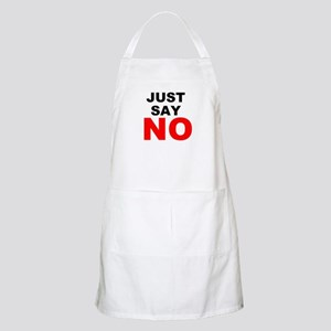 No to Drugs Apron
