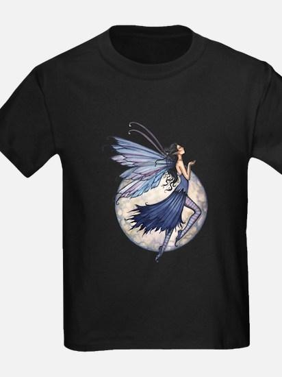 Midnight Blue Fairy Fantasy Art T